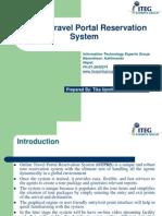 Online Travel Portal Reservation System