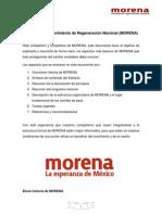 Introducción al Movimiento de Regeneración Nacional
