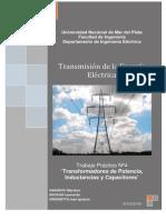 TP 4(Transformadores de Potencia, Inductancias y Capacitores)
