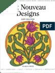 Art Nouveau Designs JUDY BALCHIN