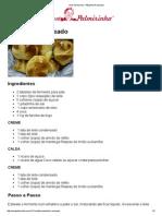 Vovó Palmirinha – Pãozinho Recheado