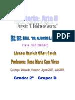 Proyecto de Arte II El Folklore Veracruzano