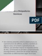 Aisladores y Disipadores Sísmicos.pptx