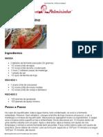 Vovó Palmirinha – Pão Doce Natalino