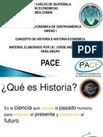 Historia Uni I 2013