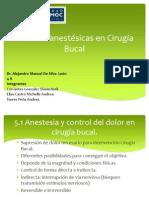 Técnicas anestésicas en Cirugía Bucal