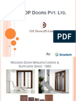 Wooden Doors Manufacturers - OP Doors