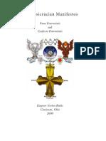 The Rosicrucian Manifestos