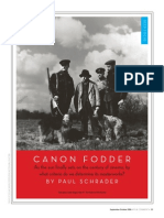 Canon Fodder by Paul Schrader (FilmComment, 2006)