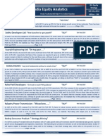 India Equity Analytics | Buy Stock of Sobha Developers Ltd and Suprajit Engineering Ltd