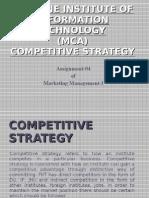 04 MCA Strategy