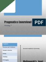 Pragmatics (Overview)