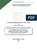 Proyectos - Bases de Licitacion Publica 001 - 2014 - GRA