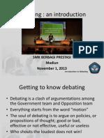 SMK BERBAGI Intro to Debate