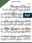 rachmaninoff polka italiana