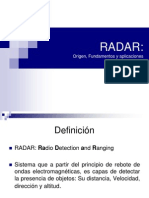 Exposición Radares. Principios básicos.