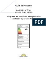 Aplicativo Web IRAM 11900