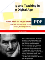 3-Learning and Teaching in the Digital Age