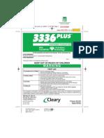 Thiophanate Methyl Label