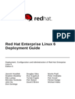 Red Hat Enterprise Linux 6 Deployment Guide en US