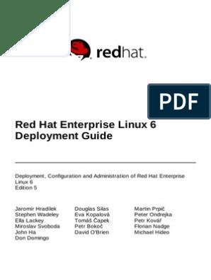 Red Hat Enterprise Linux 6 Deployment Guide en US   Secure