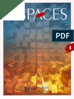 Le Nouvel Espaces 1 Livre