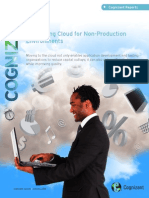 Leveraging Cloud for Non-Production Environments