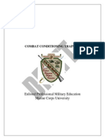Combat Conditioning Programdirectorversion 032009