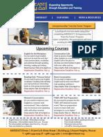 AMIDEAST Oman February 2014 Newsletter