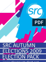 GUSRC Autumn Elections | Election Pack