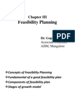 Chapter III Feasibility Plan