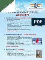 Aero Sports Workshop Brochure