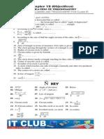Objective Ch 12 FSC Part1