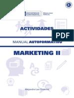 Marketing II Actividades