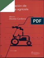 Administración de maquinaria agrícola