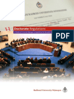 Radboud University Promotiereglement