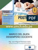 Marco del Buen Desempeño Docente - webinar
