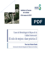 Clase Práctica Mejora y Evaluación ICS 2013_RosaDulanto
