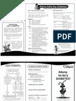 Diabetes Self-Assessment (Bisaya)