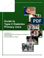 Guide to Type 2 Diabetes Primary Care