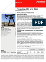 Pakistan Oil and Gas - The Undiscovered Value (Detailed Report)
