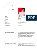CV, Șargu Adrian