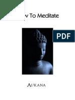 Aukana Meditation