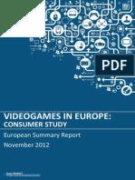 Euro Summary - Isfe Consumer Study