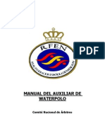 Manual Auxiliar de Waterpolo