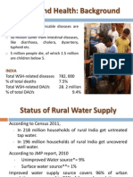 Issues Related to Safe Water