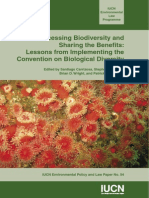 Accessing Biodiversity and Sharing the Benefits