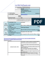 Form Job Posting