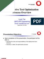 UMTS DT OptimizationProcess