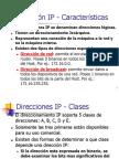 Direccion IP Caracteristicas Mascaras.ppt